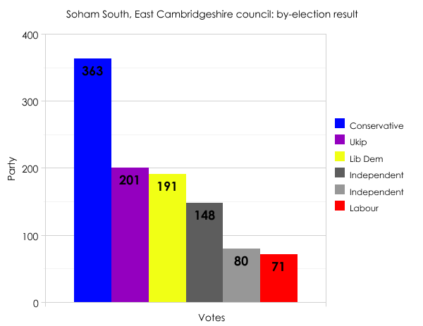 Soham by-election result