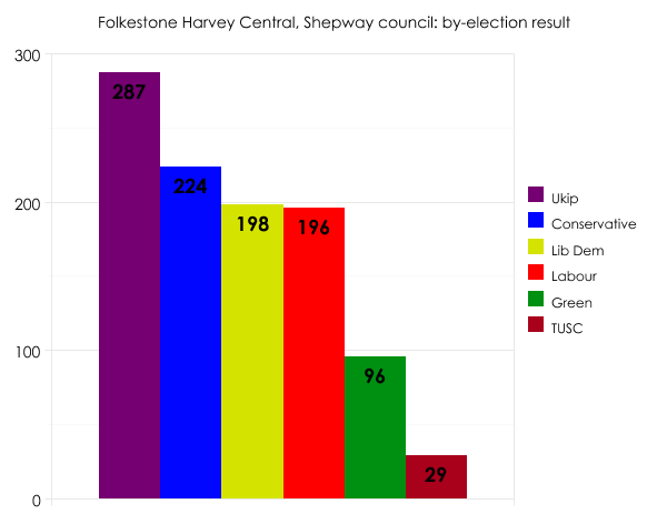 Shepway council by-election